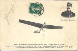 Monoplan Antoinette Piloté Par Le Capitaine BURGEAT - Aviateurs