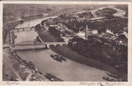 16 / 6 / 438   -  MAGDEBURG  - BLICK  AUF  DIE  ELBE - Magdeburg