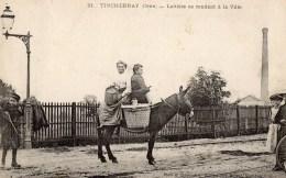 TINCHEBRAY  - Laitière Se Rendant à La Ville  (770) - Otros Municipios