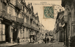 49 - SAUMUR - Hotel De La Paix - Pub Michelin - Saumur