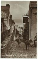 England - CLOVELLY: Down Along High Street With Mules - Clovelly