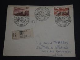 FRANCE / ALGÉRIE - Enveloppe En Recommandée De Oran Pour La France En 1958 - A Voir - L 359 - Covers & Documents