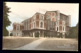 Bayreuth Festspielhaus (Seitenansicht) / Postcard Circulated, 2 Scans - Bayreuth