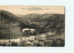 EYGURANDE MERLINES, Environs : Moulin De Raby Et Vallée Du Chavanon. 2 Scans. Edition Eyboulet - France