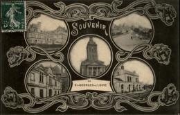 49 - SAINT-GEORGES-SUR-LOIRE - Multivues - Souvenir De - Saint Georges Sur Loire