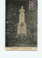 CUREMONTE : Monument Aux Morts. 2 Scans. Edition ? - France
