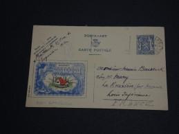 BELGIQUE - Entier Postal Illustré ( Loterie Secours D' Hiver) De Bruxelles Pour La France En 1943 - A Voir - L 361 - Illustrat. Cards