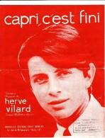 HERVE VILARD-CAPRI C'EST FINI-A VOIR- - Partitions Musicales Anciennes