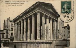 38 - VIENNE - Ruines Romaine - Temple - Vienne