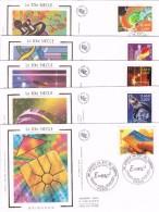 France Série Enveloppes 1er Jour - 1990-1999