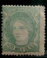 España 110 - 1868-70 Gobierno Provisional