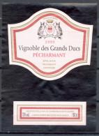 304 - Pécharmant - 1999 - Vignoble Des Grands Ducs - Mis En Bouteille Vignerons De St. Laurent St Laurent Vignes 24100 - Unclassified