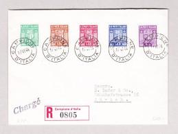Campione D'Italia 17.5.1944 R-Brief Nach Zürich - 1. Auflage - 1944-45 République Sociale