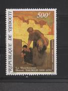 Yvert PA 133 ** Neuf Sans Charnière Tableau Peinture Daumier - Djibouti (1977-...)