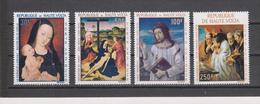 Yvert PA 42 / 45 ** Neuf Sans Charnière Tableau Peinture - Haute-Volta (1958-1984)