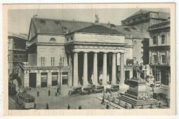 GENOVA - Piazza De Ferrari - Teatro Carlo Felice - Tramway - Genova