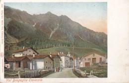 Suisse - Casaccia - Val Bregaglia - Vicosoprano Bergell - Précurseur - RARE - GR Grisons