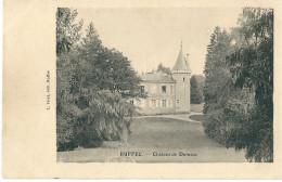 CPA 16 RUFFEC CHATEAU DE DONNEZAC - Ruffec