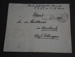 ALLEMAGNE - Enveloppe En Franchise Pour Markirch Période 1914/18 - A Voir - L 381 - Germany