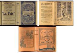 Lot De 3 Anciens Protège-livres. - Blotters