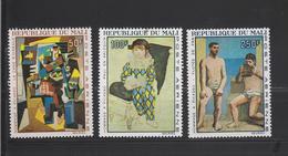 Yvert 46 / 48 ** Neuf Sans Charnière Tableau Peinture Picasso - Mali (1959-...)