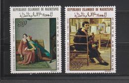 Yvert 70 / 71 * Neuf Avec Charnière Tableau Peinture Ingres - Mauritanie (1960-...)