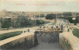 34 - HERAULT - Béziers - Les 9 écluses - Panorama De La Ville - Beziers