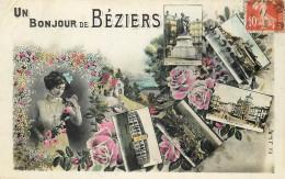 34 - HERAULT - Béziers - Bonjour De - Beziers