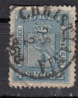 Norvege  4s Bleu YT N°8 - Oblitérés