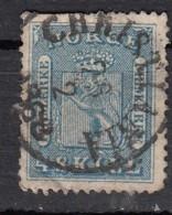 Norvege  4s Bleu YT N°8 - Gebraucht