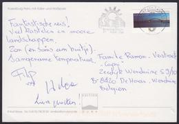 2013 - DEUTSCHLAND - Card + Michel 3003 (Fehmarnsundbrücke) + BRIEFZENTRUM 51 (Köln-Ost) - Lettres & Documents