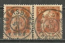 Bayern, Nr. 81 I+II, Gestempelt - Bavaria