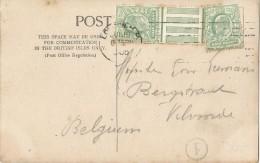 _5pk-178: ½ Penny + Bladboard + ½p: > Vilvorde / Greetings From LONDON 1905 - Ohne Zuordnung
