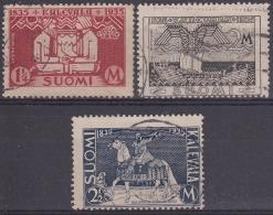 Finlandia 1935 Nº 183/85 Usado - Gebraucht