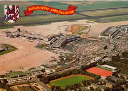 Dusseldorf Old Postcard Travelled 1975 D160620 - Aerodrome