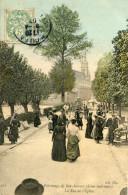 BONSECOURS(SEINE MARITIME) CARTE EN COULEUR - Bonsecours