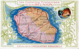 LA REUNION(PUBLICITE CHOCOLATERIE D AIGUEBELLE) - La Réunion