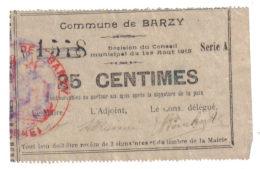 BARZY. 25ct - Bons & Nécessité