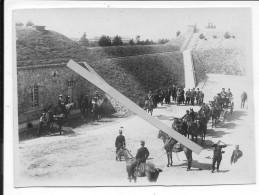 Alliance Franco-russe Le Tsar NicolasII En Visite En France Forteresse Calèche Présidentielle 1 Photo 1914-1918 Ww1 Wk1 - War, Military