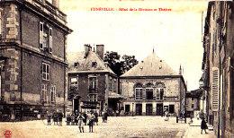54 / LUNEVILLE / HOTEL DE LA DIVISION ET THEATRE - Luneville