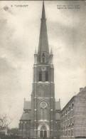 _5pk-166 :SBP-kaart 5 TURNHOUT Kerk Van Het H.Hart Eglise Du Sacré Coeur > Westkerke Lez Ghistelles 1910 - Turnhout