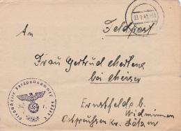 Feldpost WW2: From Dubno In Ukraine - Reserve-Grenadier-Bataillon 479 (2. Kompanie) FP 37379C P/m  3.9.1943 - Letter Ins - Militaria