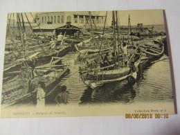 Cpa DJIBOUTI  - Barques De Somalis - Dschibuti