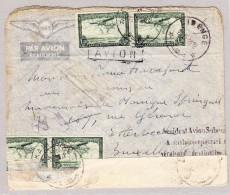 Congo Belge - Poste Aérienne - Lettre Accidentée Avion Sabena 5-1948 ? - Poste Aérienne: Lettres