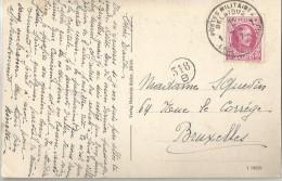 _5pk-154: N°166: 1 POSTES MILITAIRE BELGIQUE 1 BEGIË LEGERPOSTERIJ 1927 > Bxl: Jülich Kreisständehaus - 1922-1927 Houyoux
