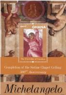 2012 Ghana Michelangelo Art Painting  Souvenir Sheet MNH - Ghana (1957-...)