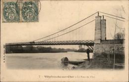 41 - VILLEFRANCHE-SUR-CHER - Pont - France