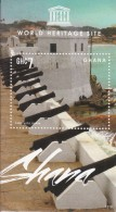 2013 Ghana World Heritage Sites Slavery 3  Souvenir Sheets    MNH  Complete Set - Ghana (1957-...)