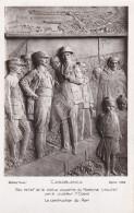 RP: Casablanca , Morocco , 30-40s ; Bas Relief De La Statue Equestre Du Marechal Lyautey - Casablanca
