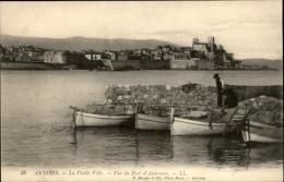 06 - ANTIBES - Vue Du Port D'Aubernon - Antibes
